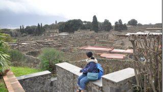 ローマからの日帰りツアー。ポンペイ遺跡を再訪し生きることを楽しむ大切さを実感
