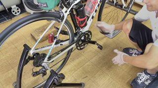 バイク屋さんで点検と調整、修理の復習【トレーニング日記】