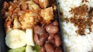 鶏胸肉のミートソース煮込み弁当【お弁当日記】