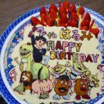 小6三女12歳の誕生日。キャラチョコのリクエストは、昨年に続きリトルグリーンメンと仲間たち!