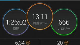 本番と同じ時間帯に走ってみました【トレーニング日記】