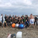 岩瀬浜でビーチクリーンとオープンウォータースイム練習会に参加【トレーニング日記】