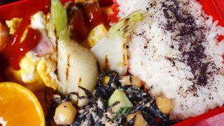 下ごしらえにはウォーターオーブンとIH鍋が大活躍。スパニッシュオムレツ弁当