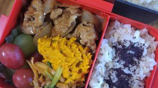 タモリさんのレシピが簡単で美味しい! 豚生姜焼き弁当