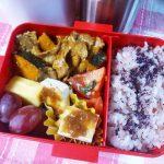 豚肉と野菜のマヨ醤油麹炒め弁当