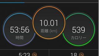 10キロのタイムトライアル。走路妨害と受動喫煙が悩ましい【トレーニング日記】
