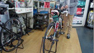 自転車の点検にいってきました。今年はコソ練、がんばります【トレーニング日記】