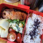 鮭の醤油麹漬け焼き弁当