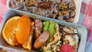 鱈の塩麹焼き&ニラ玉弁当